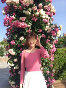 薔薇と美女